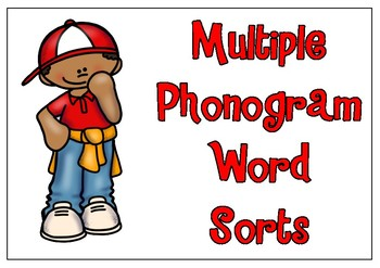 Multiple Phonogram Word Sorts 1