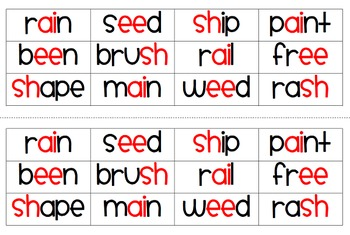 Multiple Phonogram Word Sorts 2