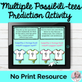 Multiple Possibilities Language Predictions Lesson Teletherapy NO PRINT