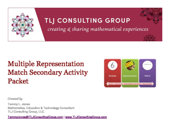 Multiple Representation Activity Primary Numbers-10