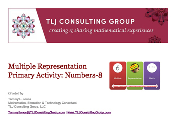 Multiple Representation Activity Primary Numbers-8