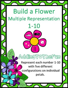 Multiple Representation Number Flowers