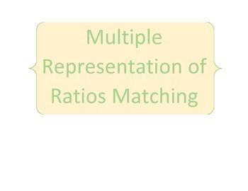 Multiple Representation of Ratios Matching