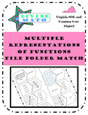 Multiple Representations of Functions File Folder Match
