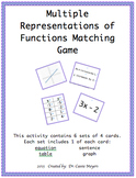 Multiple Representations of Functions for 6th Grade