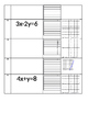 Multiple Representations of Linear Functions Card Sort
