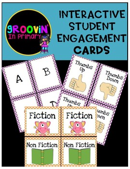 Interactive Student Engagement Cards