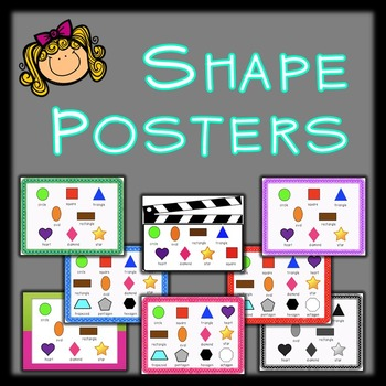 Multiple Shapes Poster