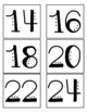 Multiplication Center Idea -- Multiple Sort or What's the Missing Multiple?