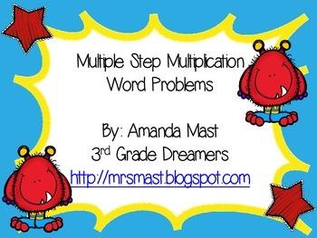 Multiple Step Multiplication Problems
