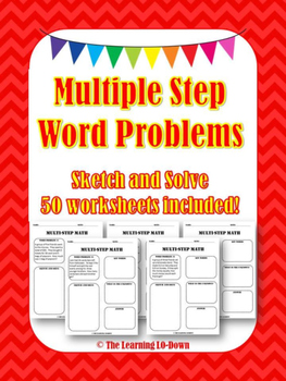Multiple Step Word Problems