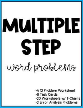 Multiple Step Word Problems - Addition and Subtraction
