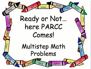 Multiple Step Word Problems- PARCC