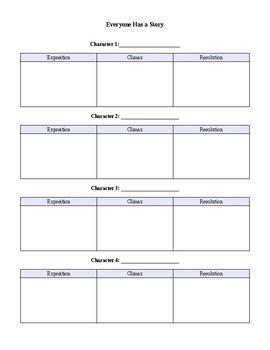 Subplot Worksheets & Teaching Resources | Teachers Pay Teachers