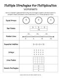 Multiple Strategies for Multiplication Set