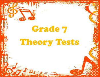 Multiple Theory Tests (Grade 7)