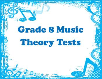 Multiple Theory Tests (Grade 8)