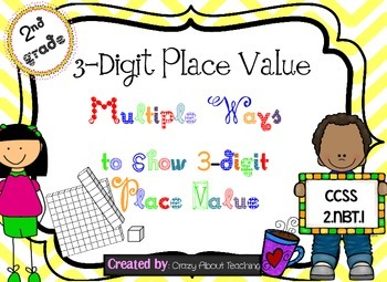 Multiple Ways to Show an Amount with 3-Digit Numbers