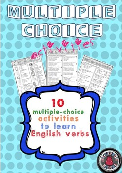Multiple-choice activities - English verbs