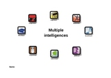 Multiple intelligences test