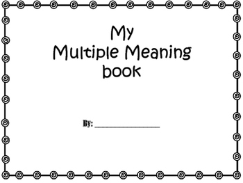 Multiple meaning book