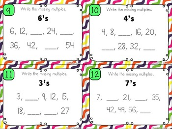 Multiples and Skip Counting For Multiplication Fluency DOLLAR DEAL BUNDLE