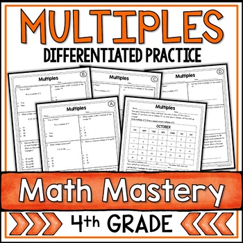Multiples Worksheet Teaching Resources Teachers Pay Teachers