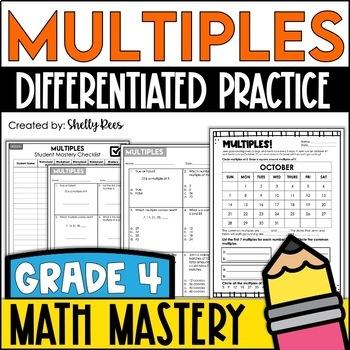 Multiples (4th Grade Common Core Math: 4.OA.4)