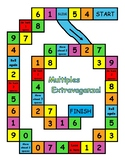 Multiples Extravaganza Game- Numbers 1-12, 15, & 20- STAND