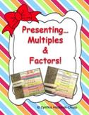 Multiples & Factors Flap Pack (Bundle)