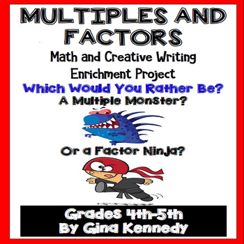 Multiples and Factors Enrichment Project, Perfect Writing/