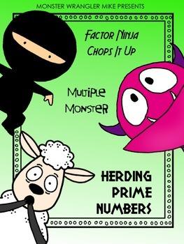 Multiples, Factors, Primes and Composites: Intermediate Math Activities