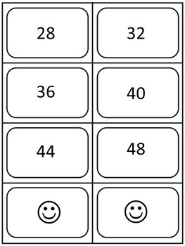Multiples Game (skip counting game)