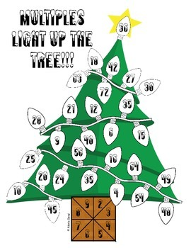 multiples light up the tree - Christmas Tree Game