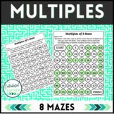 Multiples Mazes - Identifying Multiples - 4.OA.B.4