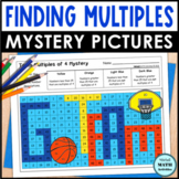 Multiples Mystery Pictures FREE 4th Grade Math Printables