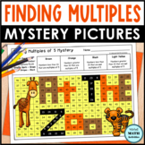 Multiples Mystery Pictures - Spring Edition