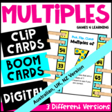 Multiples Pick, Flip and Check Cards [Australian UK NZ Edition]