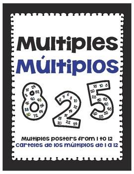 Multiples Posters/Carteles de los múltiplos