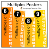 Multiples Posters (Colorful and Blackline Options)