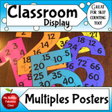 Multiples Posters for Multiplication Facts 1 - 12