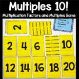 Multiplication Facts Multiples Practice Card Game 2s through 12s