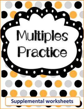 Multiples Practice Worksheets