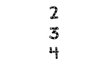 Multiples Printable Chart