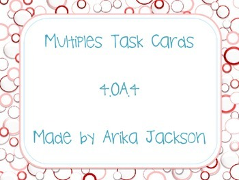 Multiples Task Cards