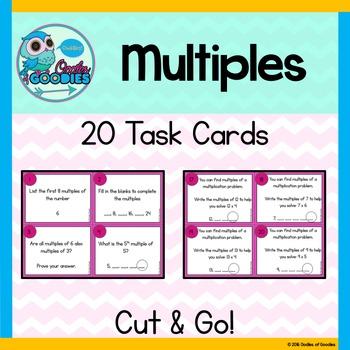 Multiples Task Cards