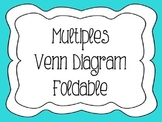 Multiples Venn Diagram Foldable