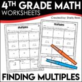 Multiples Worksheets