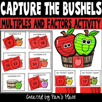 Multiples and Factors Activity