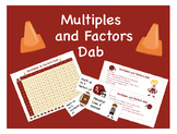 Multiples and Factors Dab Deluxe
